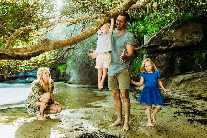 Mia, Keith , Ava and Jay
